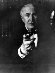"""I have not failed, I have found ten thousand ways that won't work"" - Edison - Accepting Failure"