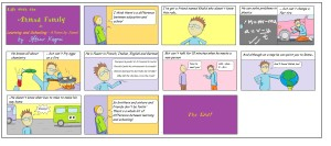 Ahmad Family Comics - Learnin and Schoolin