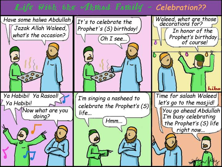 Life with the Ahmad Family Comics - Celebration??